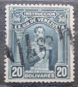 Venezuela 1914 Simón Bolívar, kolkovací Mi# 115 0241