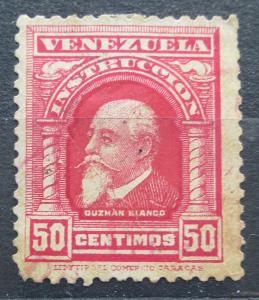 Venezuela 1911 Guzmán Blanco, kolkovací Mi# 101 0241