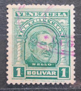 Venezuela 1911 Bello, kolkovací Mi# 102 0241