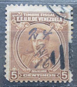 Venezuela 1915 Antonio José de Sucre, kolkovací Mi# 116 0241