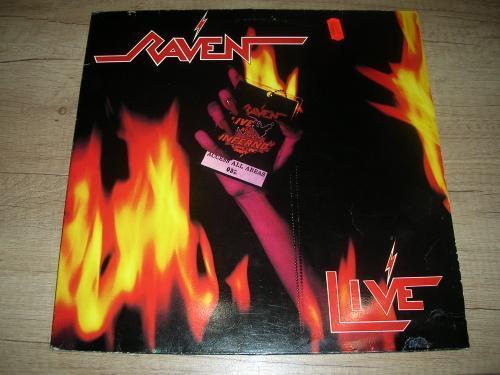 Raven  – Live At The Inferno (1984) 2xLP ,EX - Hudba