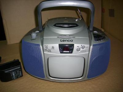 LENCO  CD - TV - TUNER  MODEL NO TCD 8055  STEREO