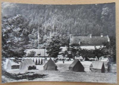 Horní Žleb - pionýrský tábor ROH (VF prošlá 1966)