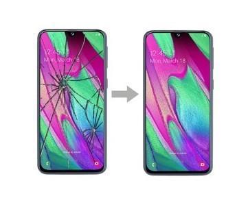 Výměna dotykového skla Samsung Galaxy A40 A405