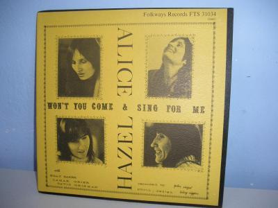 LP HAZEL DICKENS AND ALICE FOSTER 1973 USA  - JAKO NOVÁ - NM !!