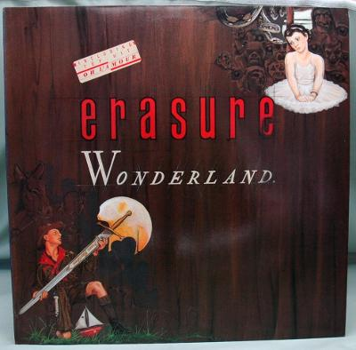 Erasure ‎– Wonderland 1986 Germany Vinyl LP 1.press
