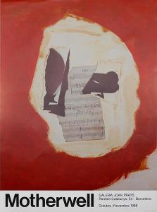Robert Motherwell - autorský plakát 1986