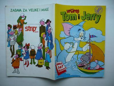 Vrtirep TOM I JERRY č.347 - jugoslávský komiks z roku 1981