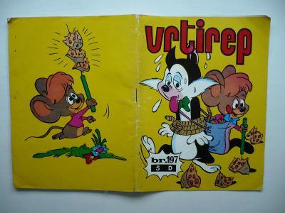 Vrtirep č. 197 - jugoslávský komiks z roku 1975