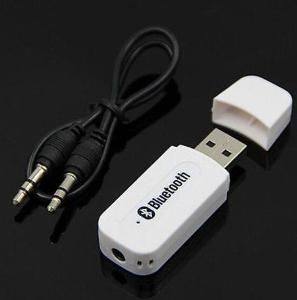 Bluetooth A2DP napájení USB hudba z mobilu bezdrátově do reproduktorů