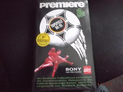 Premiere - Top - spiele - 90 / 91  - fotbal  -  RARITA
