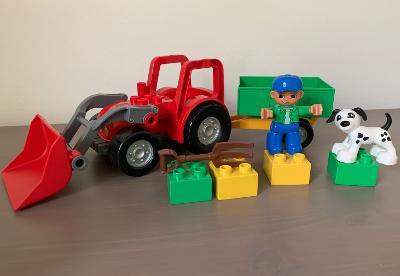 Lego Duplo 5647 - Traktor velký