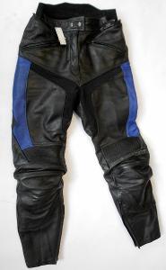 Kožené kalhoty dámské MQP vel. 38 - chrániče kolen