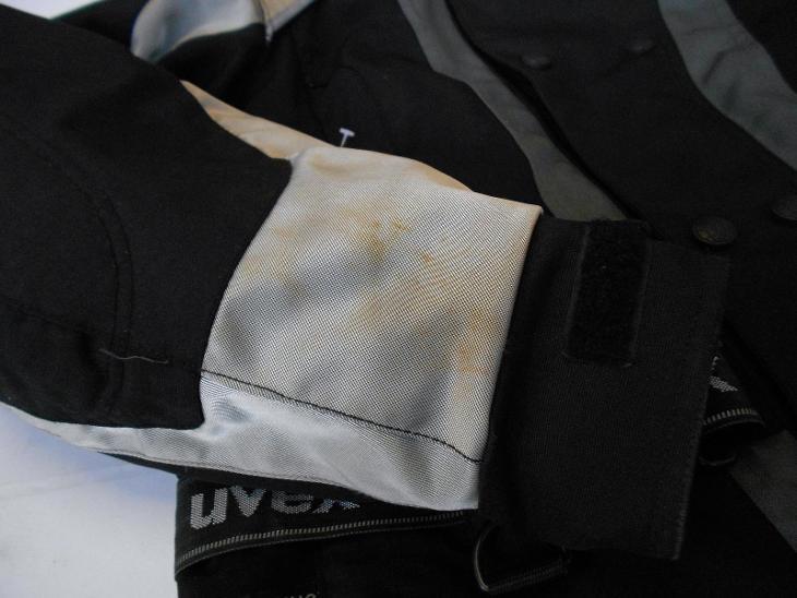 Textilní bunda LIVEX vel. S - chrániče - odep. termovložka - Náhradní díly a příslušenství pro motocykly