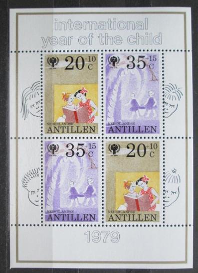 Nizozemské Antily 1979 Mezinárodní rok dětí Mi# Block 11 0283 - Filatelie