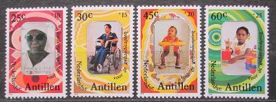 Nizozemské Antily 1981 Mezinárodní rok postižených Mi# 441-44 0287