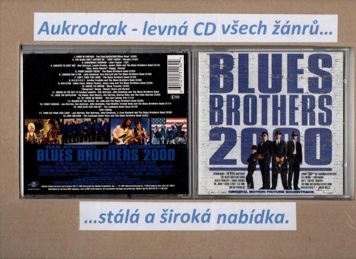CD/Blue Brothers 2000- - Hudba