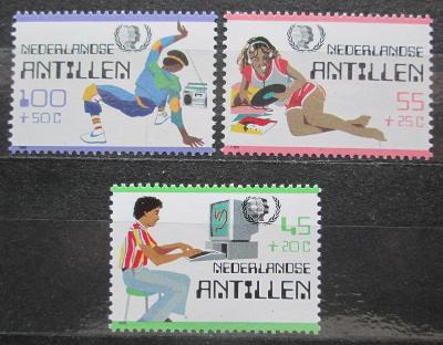 Nizozemské Antily 1985 Mezinárodní rok mládeže Mi# 557-59 Kat 7€ 0295