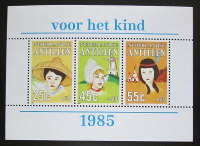 Nizozemské Antily 1985 Děti světa Mi# Block 29 0295