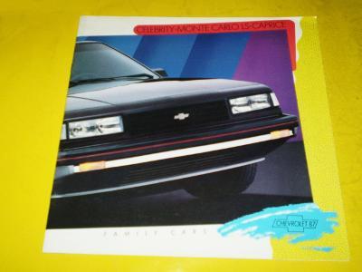 --- Chevrolet Celebrity / Monte Carlo / Caprice (1987) ----------- USA