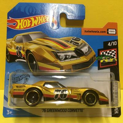 '76 Greenwood Corvette - Hot Wheels 2020 34/250 (E9-66)