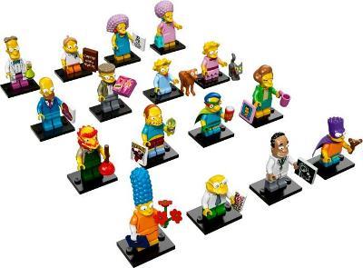 Lego 71009 Minifigurky Simpsons 2