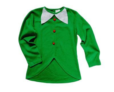 Vánoční dívčí elfí triko vel.10-12let
