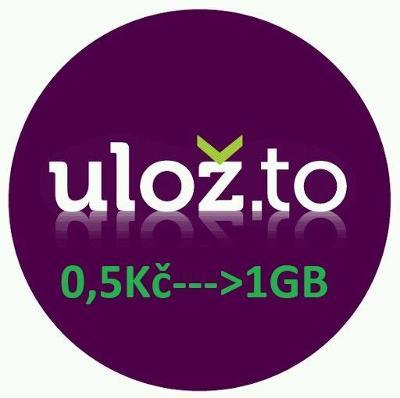 Účet Ulož.to 200GB!!! ---> 0,5kč/1GB