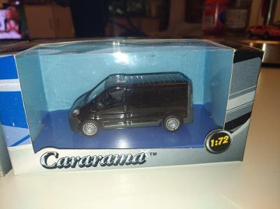 Cararama Renault Traffic černý