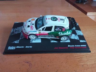 Škoda Fabia WRC Monte Carlo 2007 Kopecký Schovánek - 1/43 DeAgostini