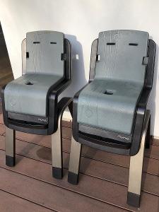 2x Nuna Zaaz Jídelní židle
