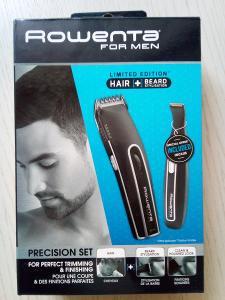 ROWENTA for men - zastřihovač vlasů, vousů, do uší, holicí strojek...