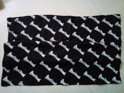 Motorkářský šátek PILSNER URQUELL, originál z pivovaru, 50 x 50 cm