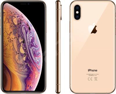 Mobilní telefon iPhone Xs 64GB zlatá (původně 21 990,-)