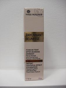 YVES ROCHER RAYONNANT JEUNESSE rozjasňující make-up BEIGE 100, 30ml