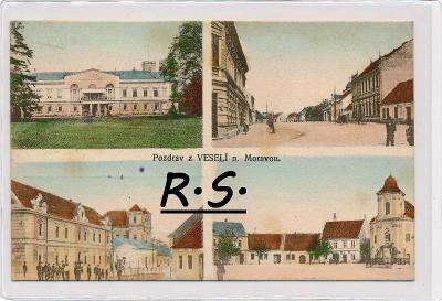 Veselí nad Moravou 1918 - Hodonín ,  /FX/