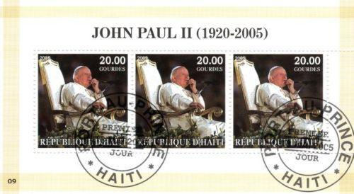 { 219 } - HAITI - PAPEZ - JAN PAVOL II