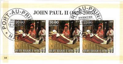 { 220 } - HAITI - PAPEZ - JAN PAVOL II