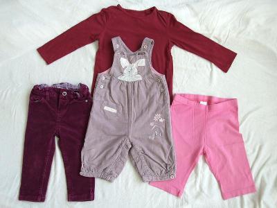 Set dívčího oblečení, vel. 74-116, značky Next, Kiki a Koko, Palomino.