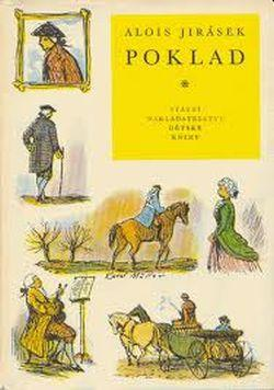 Alois Jirásek Poklad ilustrace Karel Muller