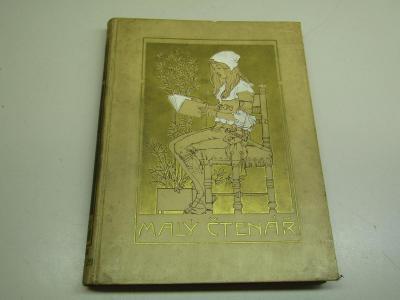 Starý brožovaný časopis Malý čtenář ročník 1927 - 28 Fr. S. Procházka