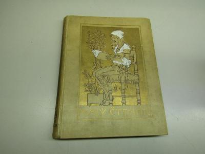 Starý brožovaný časopis Malý čtenář ročník 1928 - 29 Fr. S. Procházka