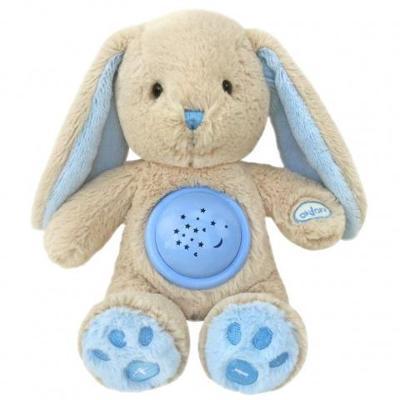 Baby Mix Plyšový usínáček králíček s projektorem Baby Mix