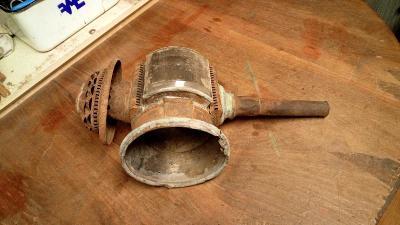 Starožitná Kočárová Lampa, Začátek 20.století !