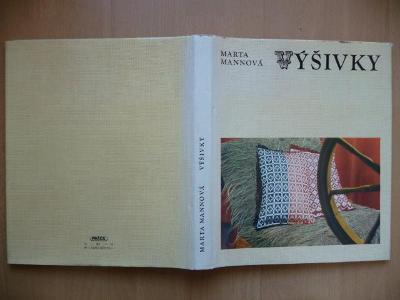 Kniha - Výšivky - Marta Mannová - 1976