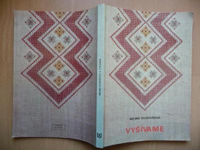 Kniha - Vyšíváme - Milina Duchoňová - ALFA 1981