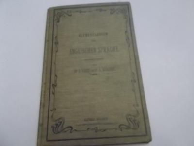 Elementarbuch der Englischen Sprache (1904) dr.Nader