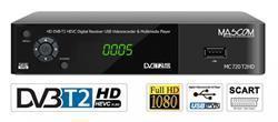 MASCOM MC720T2 HD DVB-T2 H.265/HEVC DVB-T2 přijímač