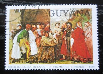 Guyana 1989 Vánoce, umění, Rubens Mi# 3075 Kat 4.50€ 1781