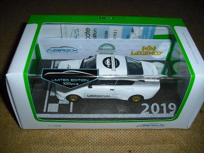 ABREX -  SKODA  130 RS 1977  : LEGENDY  2019  - LIMITKA  100 KUSU !!!!